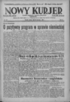 Nowy Kurjer: dziennik poświęcony sprawom politycznym i społecznym 1938.11.26 R.49 Nr271