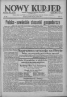 Nowy Kurjer: dziennik poświęcony sprawom politycznym i społecznym 1938.12.15 R.49 Nr286