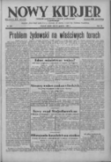 Nowy Kurjer: dziennik poświęcony sprawom politycznym i społecznym 1938.12.23 R.49 Nr293