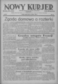 Nowy Kurjer: dziennik poświęcony sprawom politycznym i społecznym 1938.12.31 R.49 Nr299