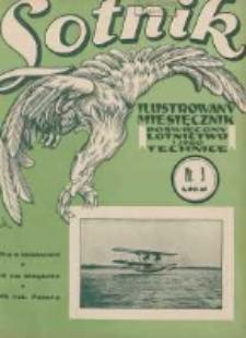 Lotnik: ilustrowany miesięcznik poświęcony lotnictwu i jego technice: organ Wielkopolskiego Klubu Lotników 1930.03 T.10 Nr3(120)
