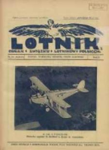 Lotnik: organ Związku Lotników Polskich 1925 R.2 Nr13/14(30/31)