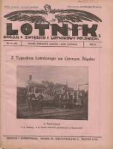 Lotnik: organ Związku Lotników Polskich 1925 R.2 Nr21(38)