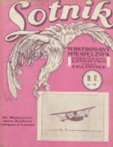 Lotnik: ilustrowany miesięcznik poświęcony lotnictwu i jego technice: organ Wielkopolskiego Klubu Lotników 1930.12 T.10 Nr12(129)