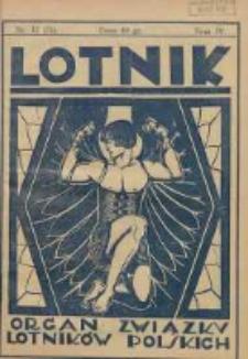 Lotnik: organ Związku Lotników Polskich 1926.12.18 T.4 Nr12(71)