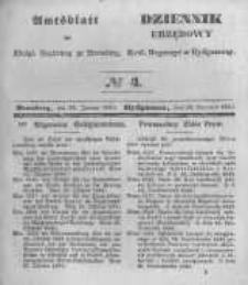 Amtsblatt der Königlichen Preussischen Regierung zu Bromberg. 1845.01.24 No.4