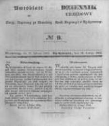 Amtsblatt der Königlichen Preussischen Regierung zu Bromberg. 1845.02.28 No.9