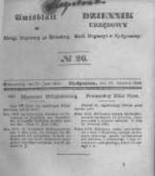Amtsblatt der Königlichen Preussischen Regierung zu Bromberg. 1845.06.27 No.26
