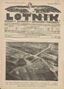 Lotnik: organ Związku Lotników Polskich: pismo dla wszystkich poświęcone sprawom lotnictwa cywilnego i wojskowego 1925.05.05 R.2 Nr8(25)