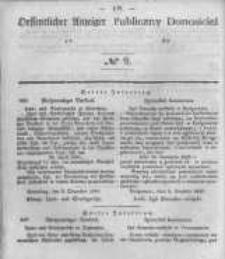 Oeffentlicher Anzeiger zum Amtsblatt No.9 der Königl. Preuss. Regierung zu Bromberg. 1845