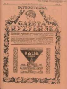 Powszechna Gazeta Fryzjerska : organ Związku Polskich Cechów Fryzjerskich 1928.09.01 R.6 Nr17
