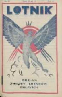 Lotnik: organ Związku Lotników Polskich 1926.05.08 R.3 Nr17(55)