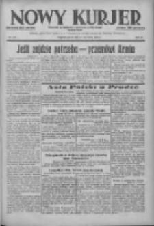 Nowy Kurjer: dziennik poświęcony sprawom politycznym i społecznym 1938.09.23 R.49 Nr218