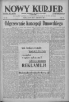 Nowy Kurjer: dziennik poświęcony sprawom politycznym i społecznym 1938.10.13 R.49 Nr235