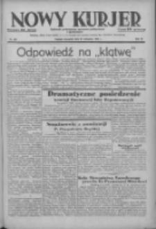 Nowy Kurjer: dziennik poświęcony sprawom politycznym i społecznym 1938.11.24 R.49 Nr269