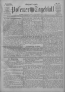 Posener Tageblatt 1911.01.12 Jg.50 Nr19
