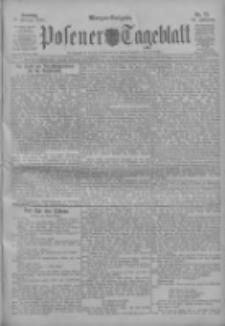 Posener Tageblatt 1911.02.12 Jg.50 Nr73