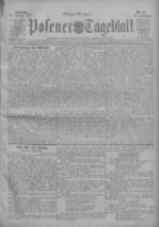 Posener Tageblatt 1911.02.26 Jg.50 Nr97