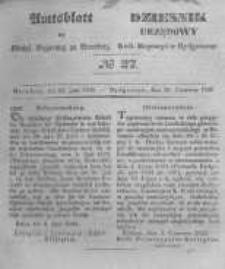 Amtsblatt der Königlichen Preussischen Regierung zu Bromberg. 1846.06.26 No.27