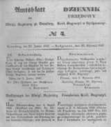 Amtsblatt der Königlichen Preussischen Regierung zu Bromberg. 1847.01.22 No.4