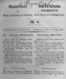 Amtsblatt der Königlichen Preussischen Regierung zu Bromberg. 1847.02.19 No.8