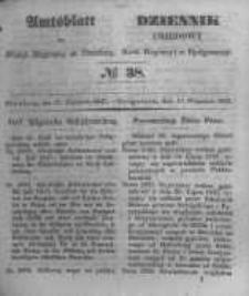 Amtsblatt der Königlichen Preussischen Regierung zu Bromberg. 1847.09.17 No.38