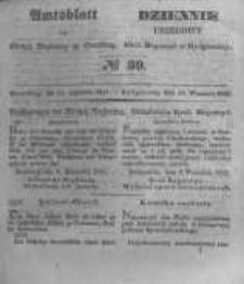 Amtsblatt der Königlichen Preussischen Regierung zu Bromberg. 1847.09.24 No.39