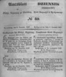 Amtsblatt der Königlichen Preussischen Regierung zu Bromberg. 1847.12.03 No.49