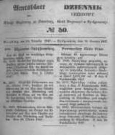 Amtsblatt der Königlichen Preussischen Regierung zu Bromberg. 1847.12.10 No.50
