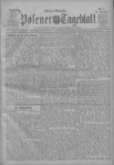 Posener Tageblatt 1911.01.05 Jg.50 Nr7