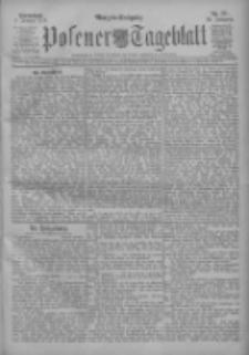 Posener Tageblatt 1911.01.07 Jg.50 Nr11