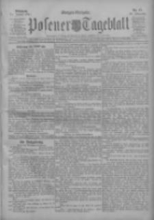 Posener Tageblatt 1911.01.11 Jg.50 Nr17