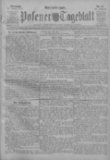 Posener Tageblatt 1911.01.14 Jg.50 Nr23
