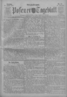 Posener Tageblatt 1911.01.24 Jg.50 Nr39