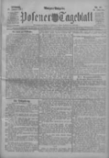 Posener Tageblatt 1911.01.25 Jg.50 Nr41