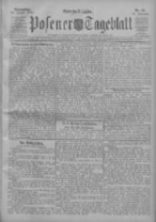 Posener Tageblatt 1911.01.26 Jg.50 Nr43