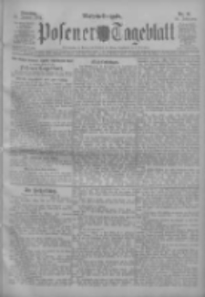 Posener Tageblatt 1911.01.31 Jg.50 Nr51