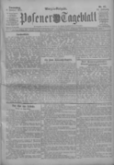 Posener Tageblatt 1911.02.09 Jg.50 Nr67