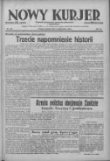 Nowy Kurjer: dziennik poświęcony sprawom politycznym i społecznym 1938.10.06 R.49 Nr229