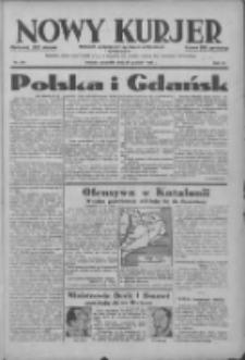 Nowy Kurjer: dziennik poświęcony sprawom politycznym i społecznym 1938.12.29 R.49 Nr297