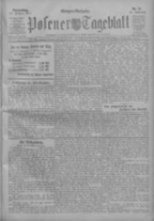 Posener Tageblatt 1911.01.19 Jg.50 Nr31