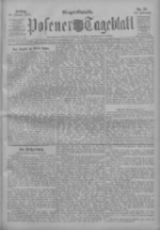 Posener Tageblatt 1911.01.20 Jg.50 Nr33