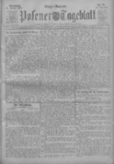 Posener Tageblatt 1911.01.21 Jg.50 Nr35