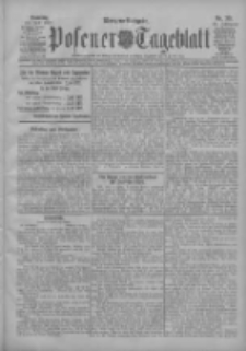 Posener Tageblatt 1907.07.30 Jg.46 Nr351