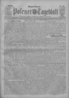 Posener Tageblatt 1907.08.25 Jg.46 Nr397