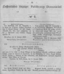Oeffentlicher Anzeiger zum Amtsblatt No.4 der Königl. Preuss. Regierung zu Bromberg. 1847
