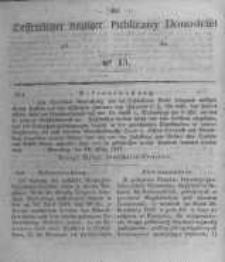 Oeffentlicher Anzeiger zum Amtsblatt No.15 der Königl. Preuss. Regierung zu Bromberg. 1847