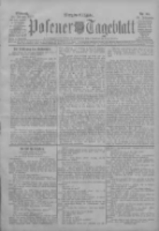 Posener Tageblatt 1907.02.20 Jg.46 Nr85
