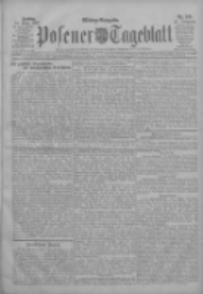 Posener Tageblatt 1907.03.22 Jg.46 Nr138