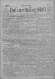 Posener Tageblatt 1911.01.10 Jg.50 Nr16